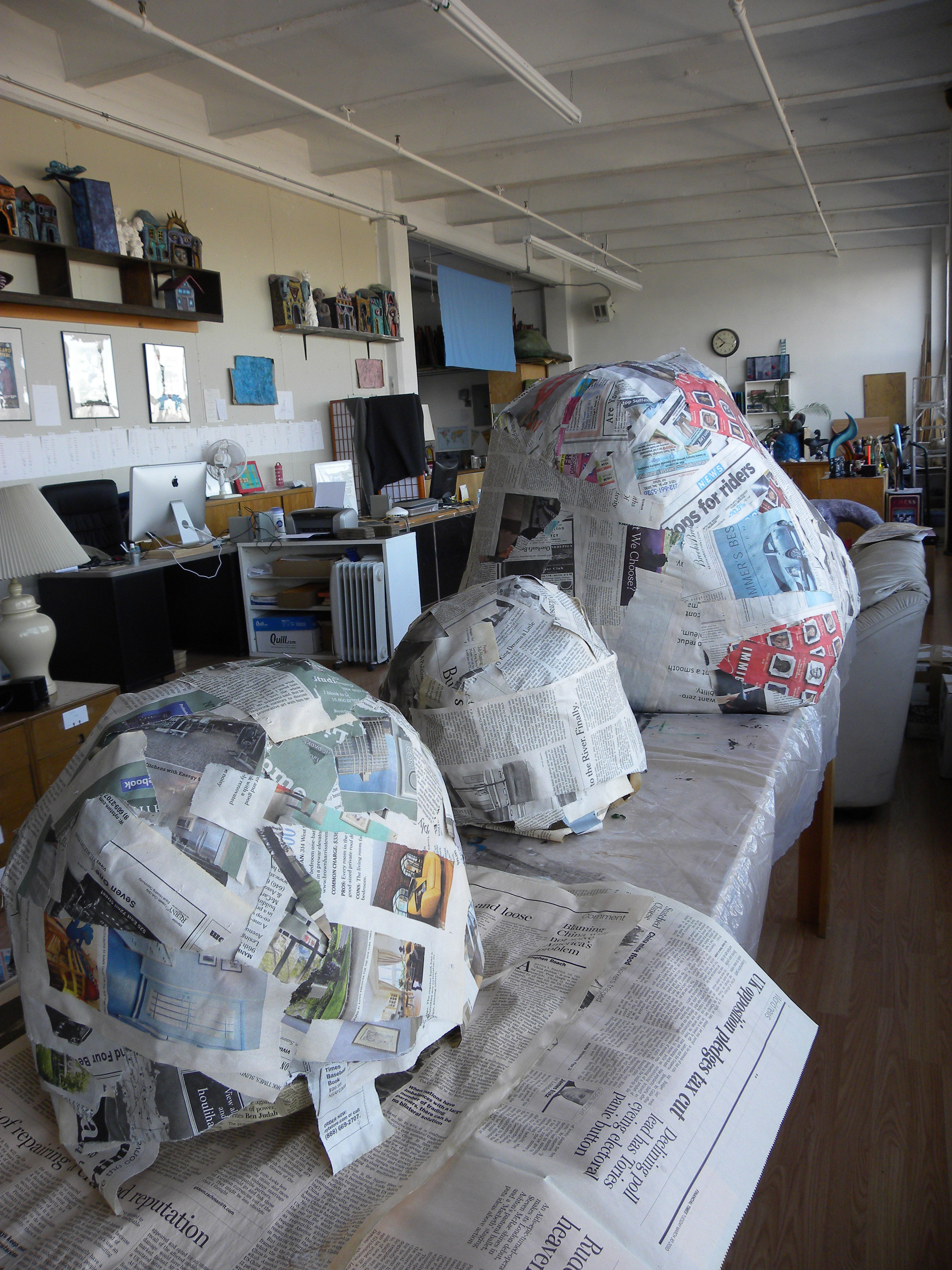 301 moved permanently for Papier mache rocks